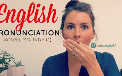 English Vowel Sounds – Pronunciation Training