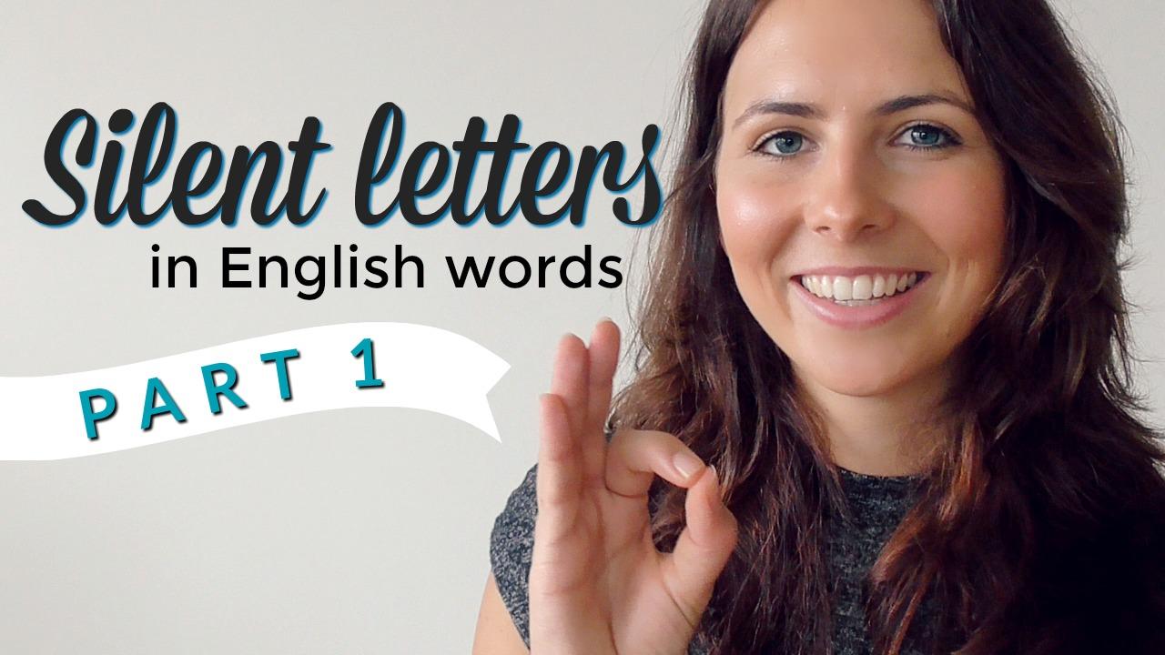 Silent Letters English Pronunciation Vocabulary Part 1