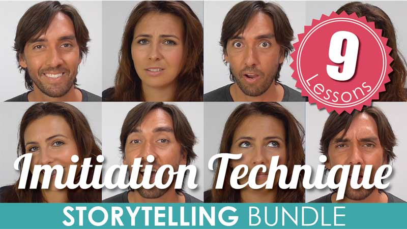 mmmEnglish Imitation Technique (Series 1) Storytelling