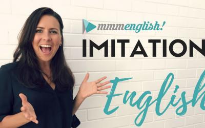 Improve your pronunciation using the mmmEnglish Imitation Technique