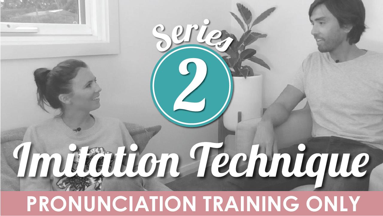 mmmEnglish Imitation Technique Series 2 Pronunciation Training