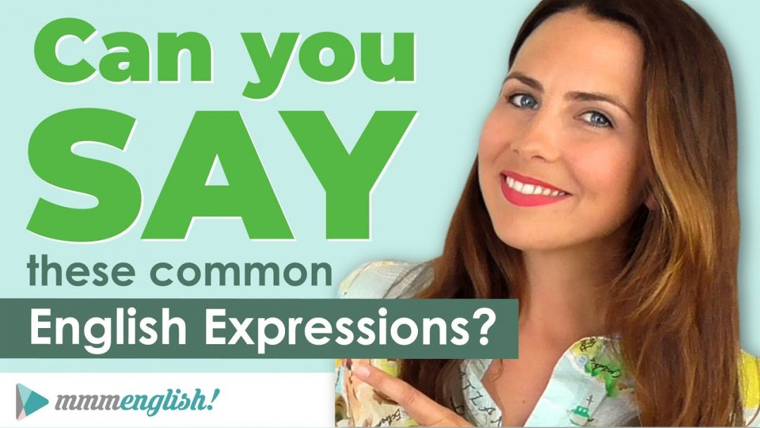 How To Say Common English Expressions! 💬 Small Talk PART 2