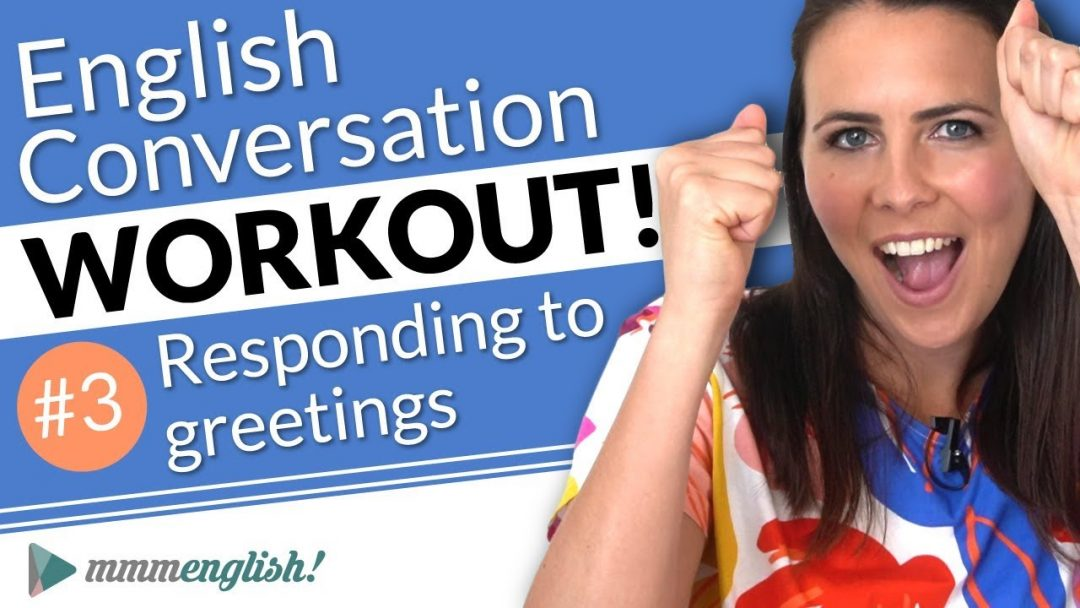 English Conversation Training ⚡️Pronunciation Workout #3
