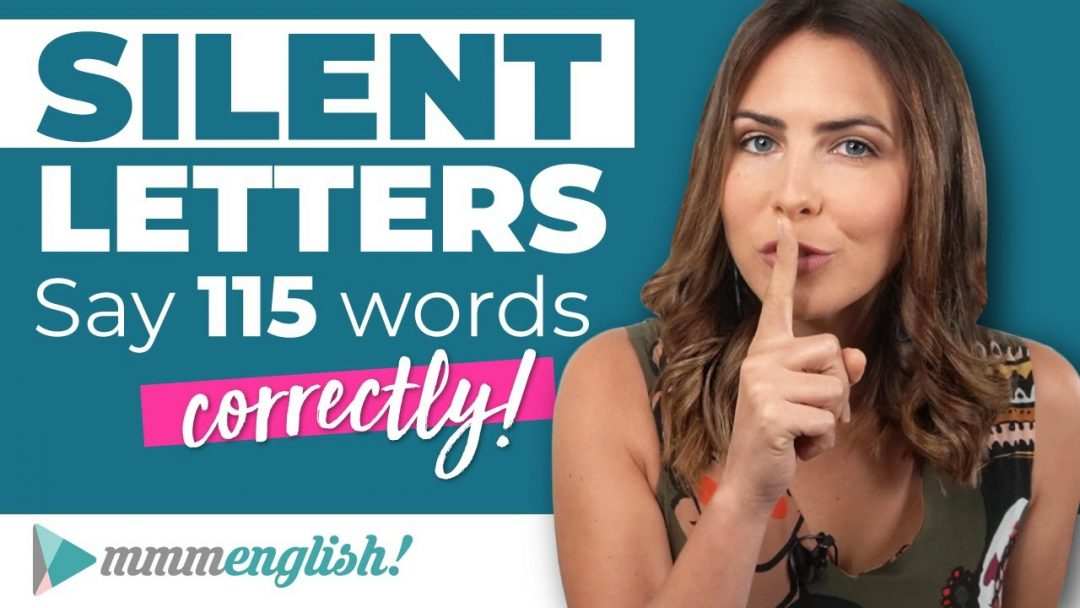Silent Letters in English | Pronunciation Practice