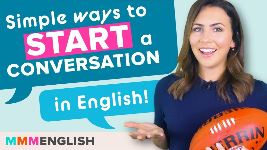 How To Start a Conversation in Australia & Practise Speaking English!