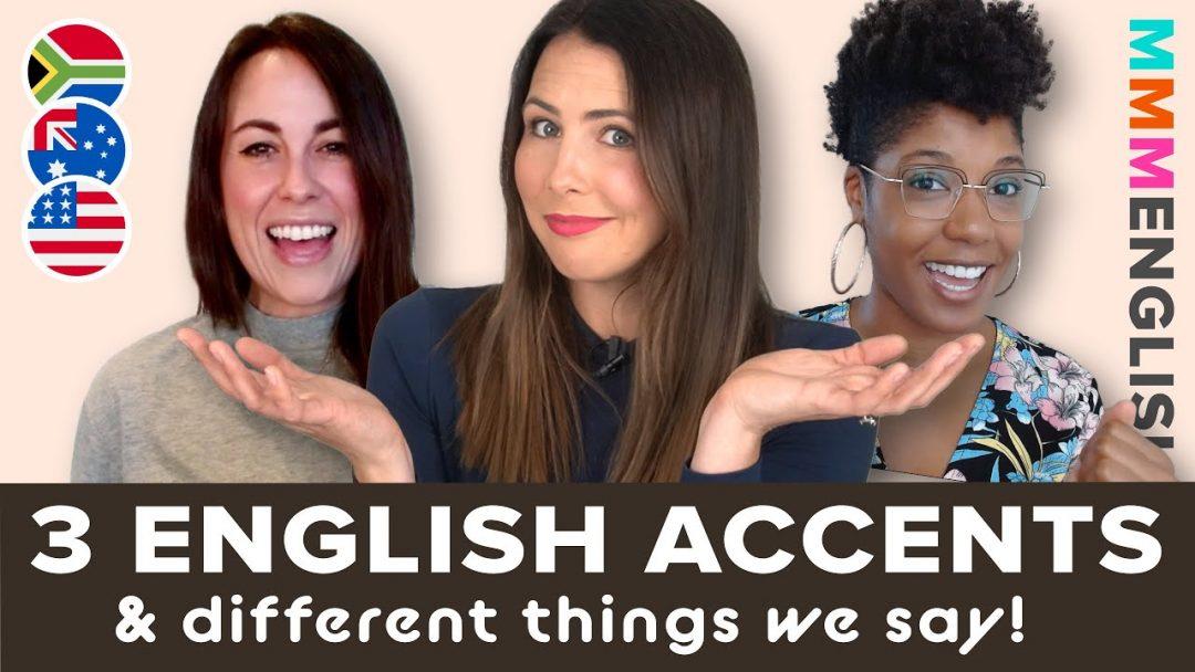 Same Language, Different Accents | SA 🇿🇦 US 🇺🇸 & AUS 🇦🇺 English